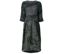 distressed printed dress