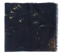 Schal mit Feuerwerks-Print