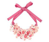 P.A.R.O.S.H. Halskette mit Blumendetails