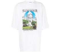 Oversized-T-Shirt mit Sacre Coeur-Print