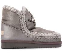 'Eskimo' Stiefel mit Kristallen