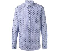 Gestreiftes Hemd mit Punkten