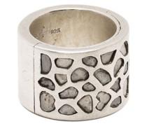 'Sistema' Ring mit Mega-Pavé