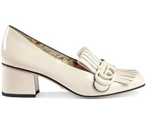 Marmont patent leather mid-heel pump
