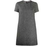 herringbone shift dress