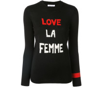 'Love La Femme' Pullover