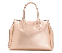 large stud detailed tote bag