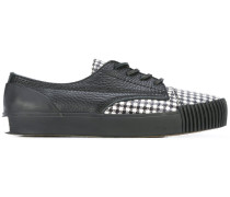 houndstooth panel sneakers