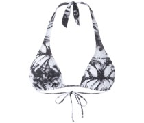 Bikinioberteil mit Print