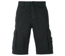 logo patch cargo shorts - men - Baumwolle - 32