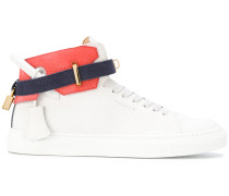 High-Top-Sneakers aus Kalbsleder