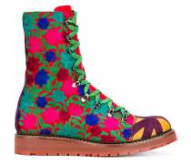 - Stiefel mit Blumenstickerei - men