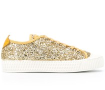 Sneakers in Glitter-Optik