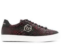 hexagon logo low-top sneakers