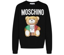 Sweatshirt mit großem Teddy