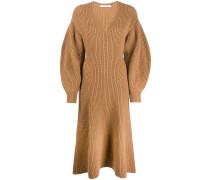 Pulloverkleid mit V-Ausschnitt