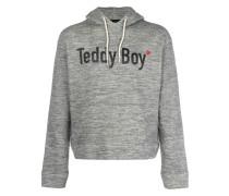 Teddy Boy print hoodie