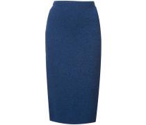 Sweater Melange pencil skirt