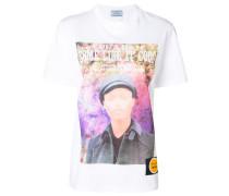 poster girl print T-shirt
