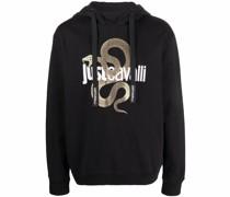 Hoodie mit Schlangen-Logo