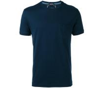 T-Shirt mit Brusttasche - men - Baumwolle - XXL
