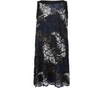 A-Linien-Kleid mit Farn-Print