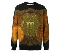 Sweatshirt mit Dollar-Print - men - Baumwolle