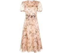 Larkin floral-print silk dress