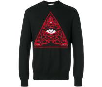 "Pullover mit ""Illuminati""-Strickmuster"