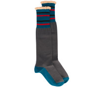 Socken in ColourBlockOptik