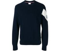 - Pullover mit Logo-Patch - men - Baumwolle - M