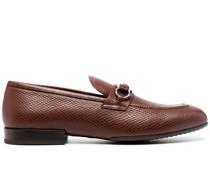 Gancini Loafer mit Eidechsen-Optik