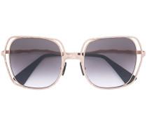 Oversized-Sonnenbrille aus Metall