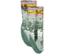 Socken mit Paillettenstickerei - women