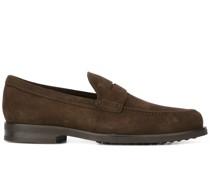 Klassische Wildleder-Loafer