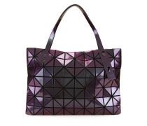 Mittelgroße Handtasche mit geometrischem Muster