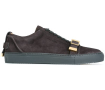 buckle strap sneakers