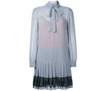 Kleid mit Faltendetails - women - polyester - 42