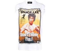 "T-Shirt mit ""Bruce Lee""-Print"
