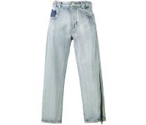BoyfriendJeans mit ReißverschlussDetail