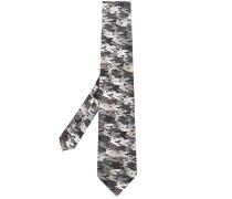 Krawatte mit Pegasus-Print