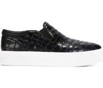 Sneakers mit Prägung