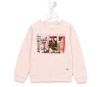 Sweatshirt mit Foto-Print - kids - Baumwolle
