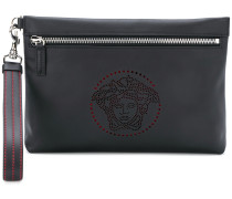 perforated Medusa clutch