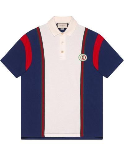 Poloshirt mit GG-Patch