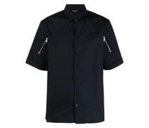 Hemd mit Reißverschlussdetail