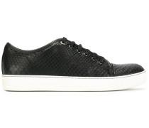 Pythonleder-Sneakers mit Schnürung - men