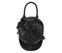 quilted hat cross body bag