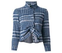 Cropped-Jacke mit Knotendetail