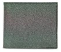 metallic billfold wallet